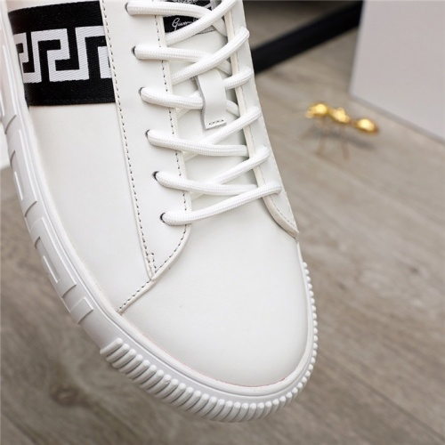 Replica Versace Casual Shoes For Men #890574 $100.00 USD for Wholesale