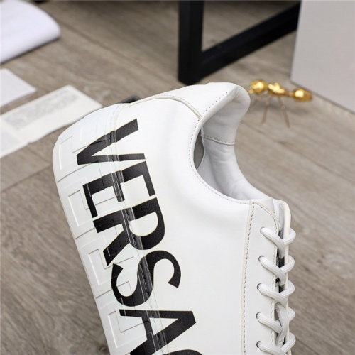 Replica Versace Casual Shoes For Men #890575 $100.00 USD for Wholesale