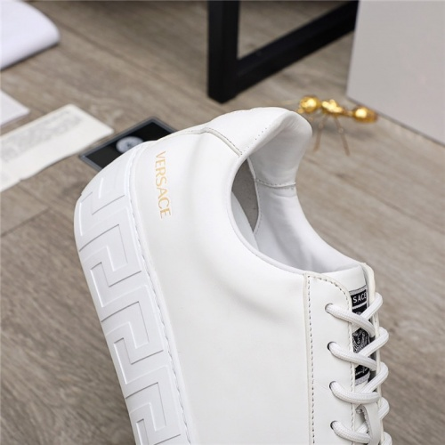 Replica Versace Casual Shoes For Men #890576 $100.00 USD for Wholesale