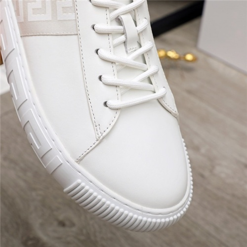 Replica Versace Casual Shoes For Men #890577 $130.00 USD for Wholesale