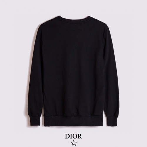 Replica Christian Dior Hoodies Long Sleeved For Men #891056 $40.00 USD for Wholesale
