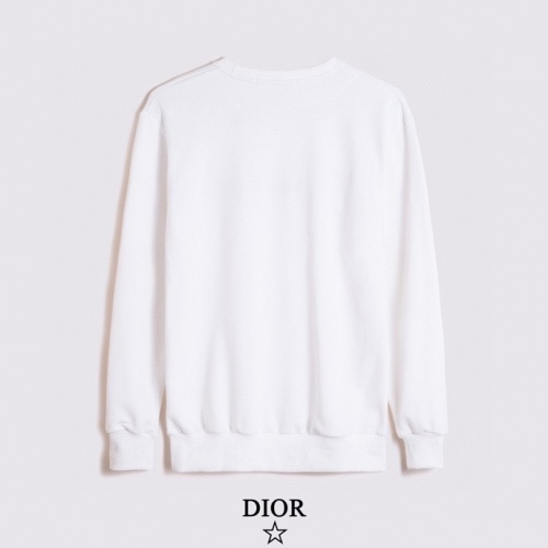 Replica Christian Dior Hoodies Long Sleeved For Men #891057 $40.00 USD for Wholesale