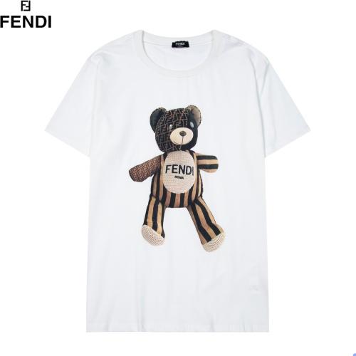 Fendi T-Shirts Short Sleeved For Men #891058 $29.00 USD, Wholesale Replica Fendi T-Shirts