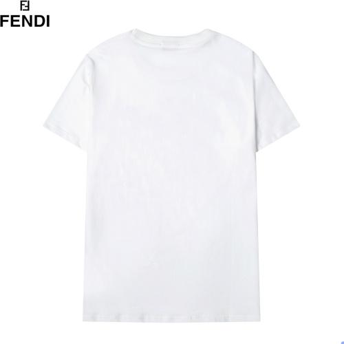Replica Fendi T-Shirts Short Sleeved For Men #891058 $29.00 USD for Wholesale