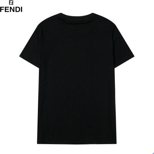 Replica Fendi T-Shirts Short Sleeved For Men #891059 $29.00 USD for Wholesale