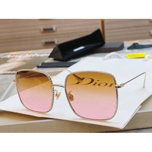 Christian Dior AAA Quality Sunglasses #891101 $58.00 USD, Wholesale Replica Christian Dior AAA Quality Sunglasses