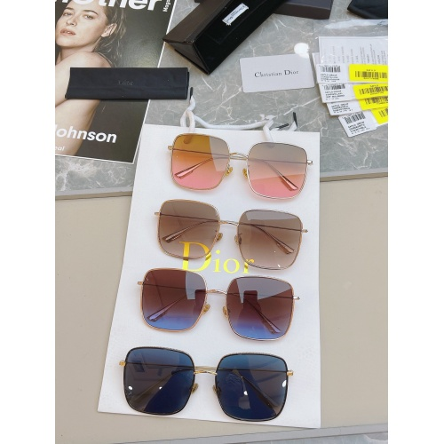 Replica Christian Dior AAA Quality Sunglasses #891101 $58.00 USD for Wholesale