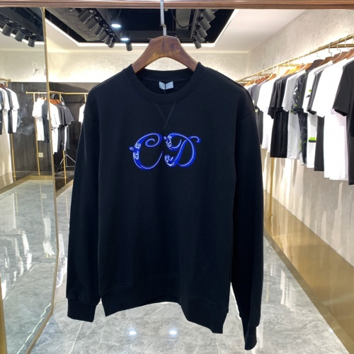 Christian Dior Hoodies Long Sleeved For Unisex #891313