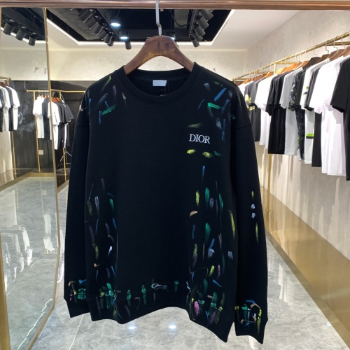 Christian Dior Hoodies Long Sleeved For Unisex #891315