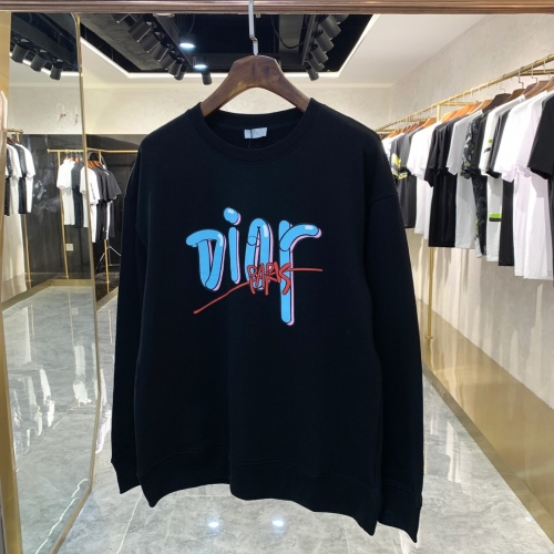 Christian Dior Hoodies Long Sleeved For Unisex #891318