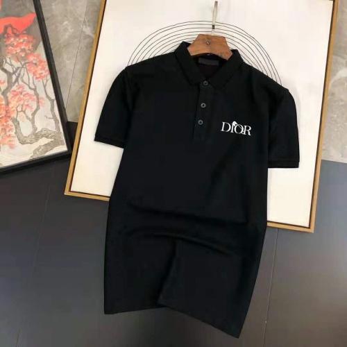 Christian Dior T-Shirts Short Sleeved For Men #891356