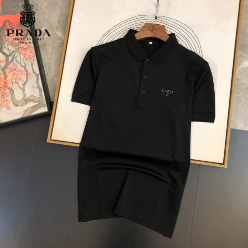 Prada T-Shirts Short Sleeved For Men #891380