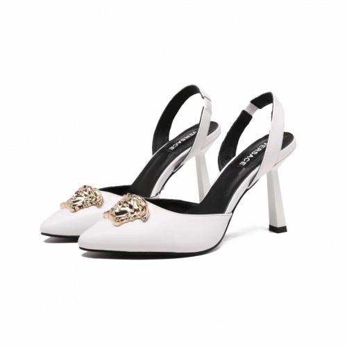 Versace High-Heeled Shoes For Women #891609