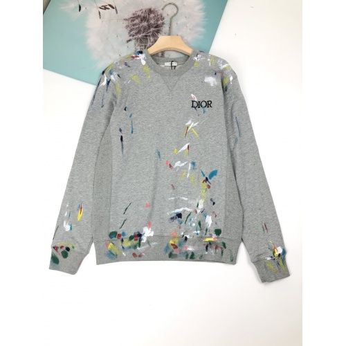 Christian Dior Hoodies Long Sleeved For Unisex #892584