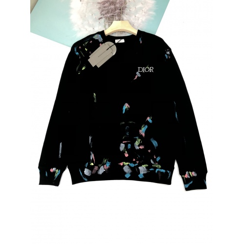 Christian Dior Hoodies Long Sleeved For Unisex #892585