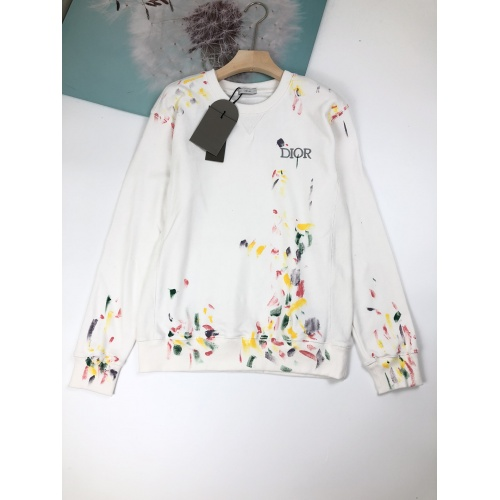 Christian Dior Hoodies Long Sleeved For Unisex #892586