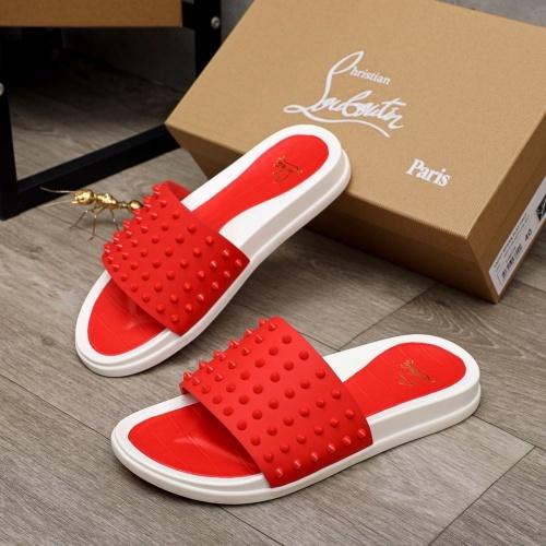 Christian Louboutin CL Slippers For Men #892766