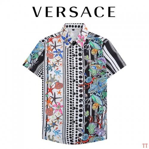 Versace Shirts Short Sleeved For Men #892944