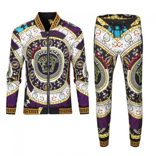 Versace Tracksuits Long Sleeved For Men #893208