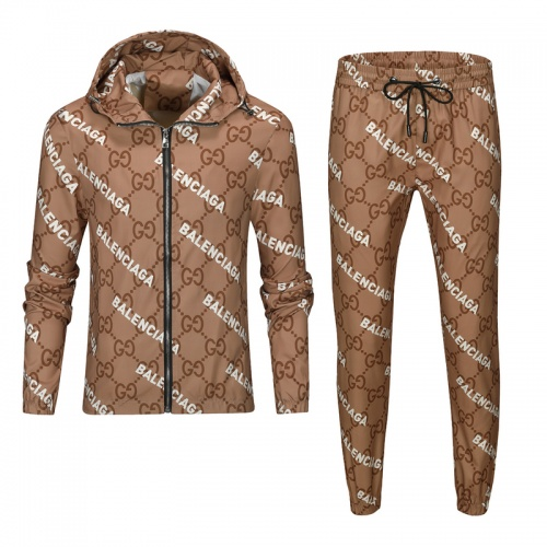 Balenciaga Fashion Tracksuits Long Sleeved For Men #893218