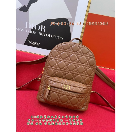 Christian Dior AAA Quality Backpacks For Women #893323
