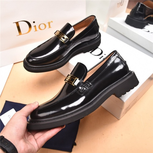 Christian Dior Leather Shoes For Men #893343