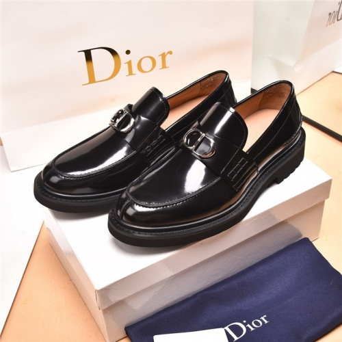 Christian Dior Leather Shoes For Men #893344