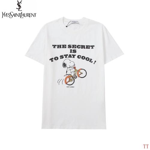 Yves Saint Laurent YSL T-shirts Short Sleeved For Men #893494