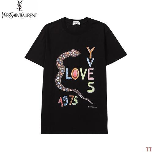 Yves Saint Laurent YSL T-shirts Short Sleeved For Men #893499