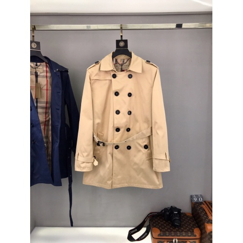 Burberry Trench Coat Long Sleeved For Men #893543