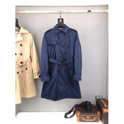 Burberry Trench Coat Long Sleeved For Men #893551