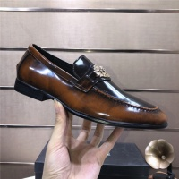 $96.00 USD Versace Leather Shoes For Men #889432