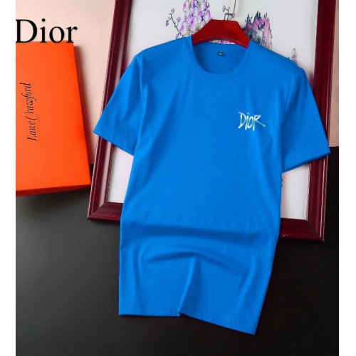 Christian Dior T-Shirts Short Sleeved For Men #894123