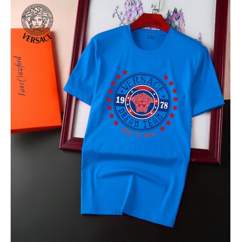 Versace T-Shirts Short Sleeved For Men #894140 $25.00 USD, Wholesale Replica Versace T-Shirts
