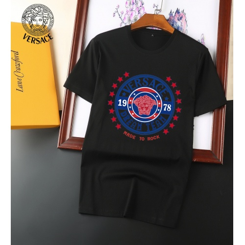 Versace T-Shirts Short Sleeved For Men #894141 $25.00 USD, Wholesale Replica Versace T-Shirts