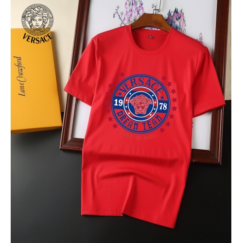 Versace T-Shirts Short Sleeved For Men #894143 $25.00 USD, Wholesale Replica Versace T-Shirts