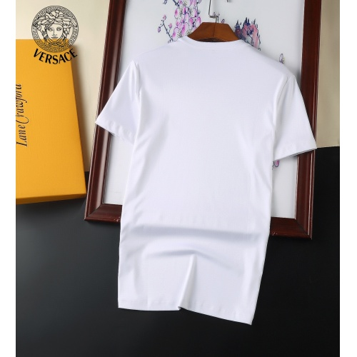Replica Versace T-Shirts Short Sleeved For Men #894144 $25.00 USD for Wholesale