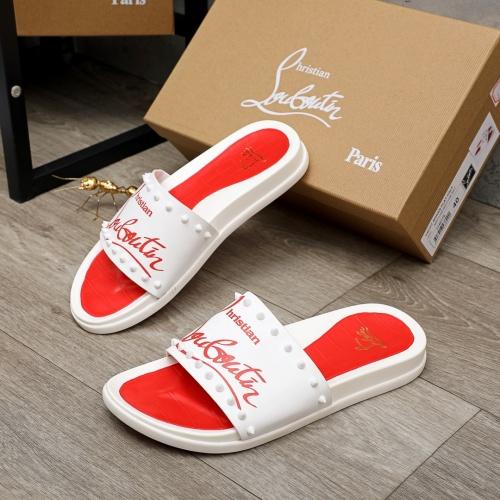 Christian Louboutin CL Slippers For Men #894451