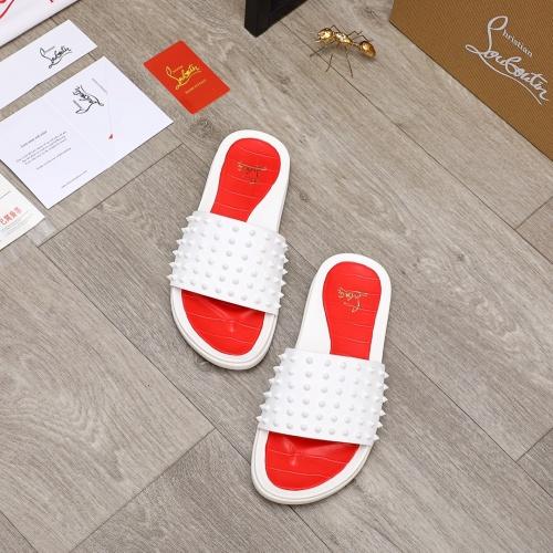 Christian Louboutin CL Slippers For Men #894453