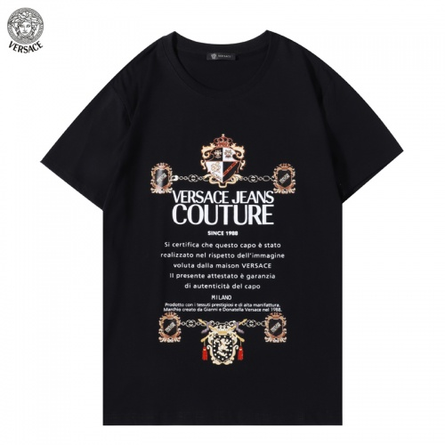 Versace T-Shirts Short Sleeved For Men #894601 $29.00 USD, Wholesale Replica Versace T-Shirts
