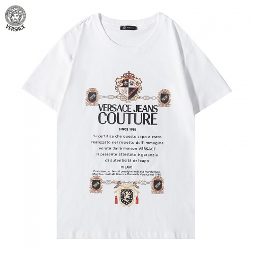 Versace T-Shirts Short Sleeved For Men #894602 $29.00 USD, Wholesale Replica Versace T-Shirts