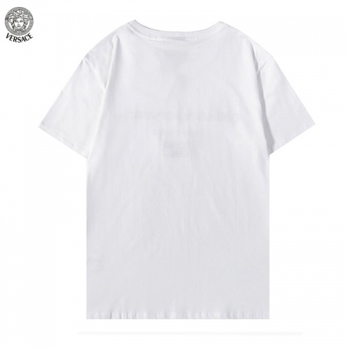 Replica Versace T-Shirts Short Sleeved For Men #894602 $29.00 USD for Wholesale