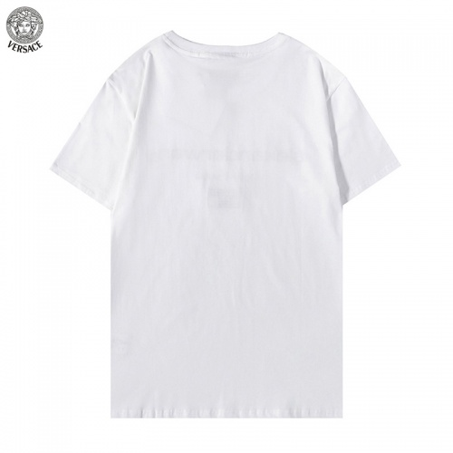 Replica Versace T-Shirts Short Sleeved For Men #894604 $27.00 USD for Wholesale