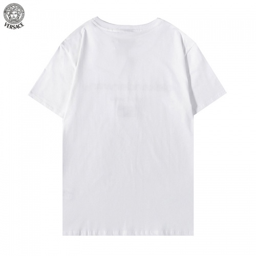Replica Versace T-Shirts Short Sleeved For Men #894605 $27.00 USD for Wholesale