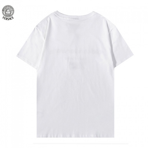Replica Versace T-Shirts Short Sleeved For Men #894607 $29.00 USD for Wholesale