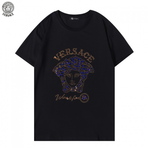 Versace T-Shirts Short Sleeved For Men #894608 $29.00 USD, Wholesale Replica Versace T-Shirts