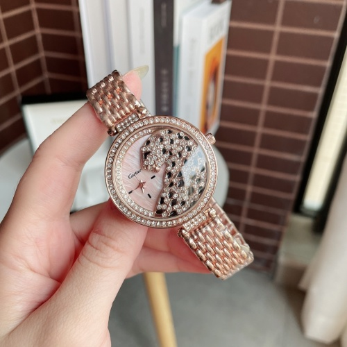 Cartier Watches For Women #895493 $29.00 USD, Wholesale Replica Cartier Watches