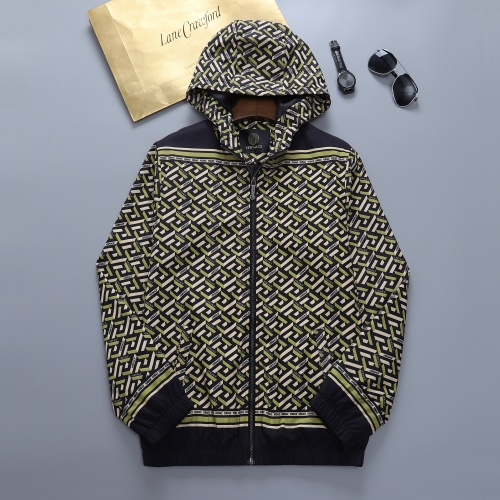 Versace Jackets Long Sleeved For Men #895694