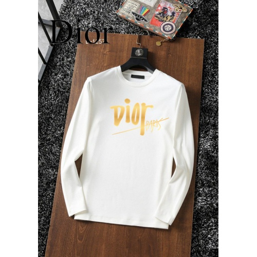 Christian Dior T-Shirts Long Sleeved For Men #896108