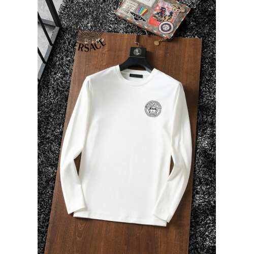 Versace T-Shirts Long Sleeved For Men #896112 $34.00 USD, Wholesale Replica Versace T-Shirts